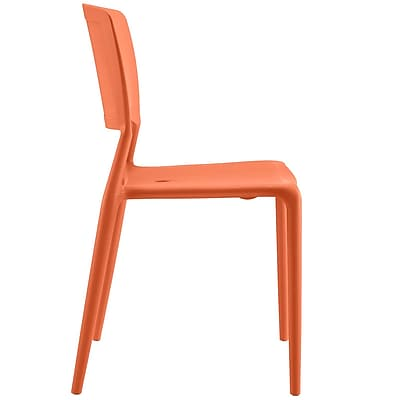 Fine Dining Side Chair in Orange (848387081904)