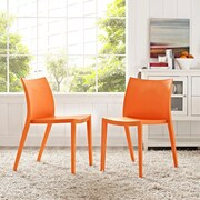 Gallant Dining Set, Set of 2 in Orange (889654077008)