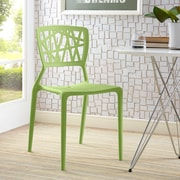 Astro Dining Side Chair in Green (848387081935)