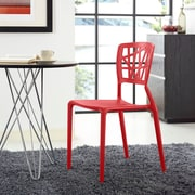 Astro Dining Side Chair in Red (848387081959)