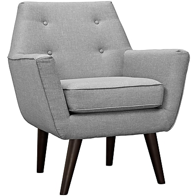 Posit Armchair in Light Gray (889654040637)