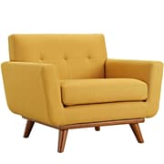Engage 2 Piece Armchair and Ottoman in Citrus (889654051725)