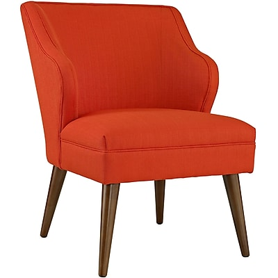 Swell Fabric Armchair in Atomic Red (889654041092)