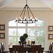 Modway Encircle Chandelier in Brown (889654041351)