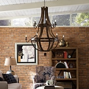 Modway Trebuchet Chandelier in Brown (889654039808)