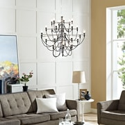 Modway Starbright Chandelier in Black (848387018801)