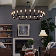 "Modway Teleport 52"" Chandelier in Brown (889654039891)"