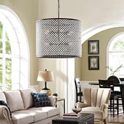 Modway Prosperity Chandelier in Brown (889654039860)