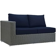 Sojourn 11 Piece Outdoor Patio Sunbrella® Sectional Set in Canvas Navy (889654026051)