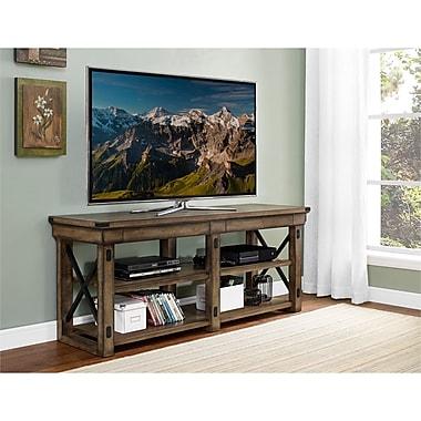 Altra Wildwood Wood TV Stand Rustic Gray (1768096PCOM)