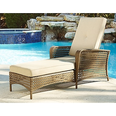 Cosco Lakewood Ranch Chaise Wicker (88599ABTE)
