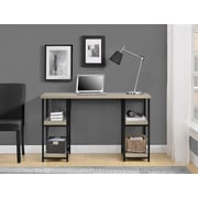 Altra Elmwood Double Pedestal Desk, Sonoma Oak