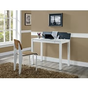 Altra Parsons Flip-Up Desk, White/Black