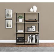 Altra Wade Wood Veneer Bookcase, Rustic Gray (9660196)