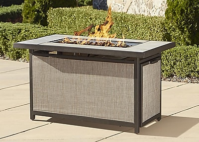 Cosco Serene Ridge Gas Fire Pit Table Black (88533DBTE)