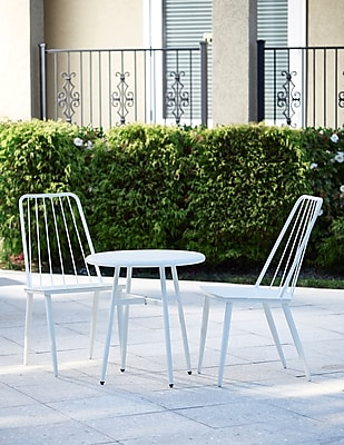 Cosco Avenue Green Set of 3 Patio Set White (87810WHTE)