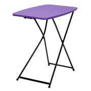 Cosco Personal Folding Table, Purple 2 Pack (37129PNB2E)