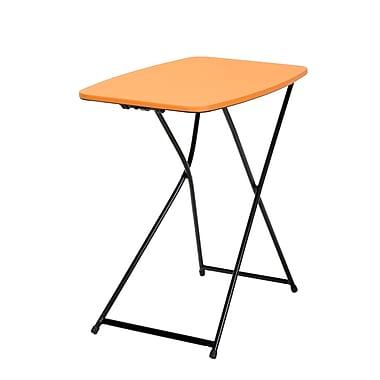 Cosco Personal Folding Table, Orange 2 Pack (37129ONB2E)