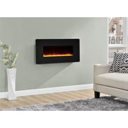 "Altra Kenna 35"" Wall Mounted Electric Fireplace, Black (5033096COM)"
