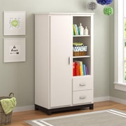 Cosco Leni Armoire, White and Coffee House Plank (5924216COM)