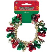 Amscan Christmas Drop Bead Bracelet, 3/Pack (397748)