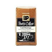 Peet's Coffee Café Domingo Ground Coffee, Medium Roast (503279)