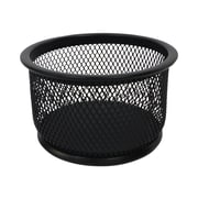 Buddy Products Wire Mesh Accessories Holder, Black (ZD022-4)