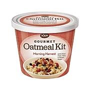 N'Joy Morning Harvest Oatmeal & Granola, Variety, 3.42 Oz., 8/Carton (40772)