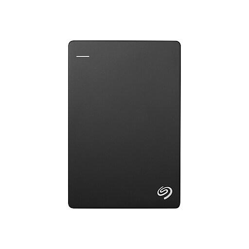 74cbe1102375 Seagate Backup Plus Slim 1TB Portable USB 3.0 External Hard Drive with  Mobile Device Backup, Black (STDR1000100)   Staples