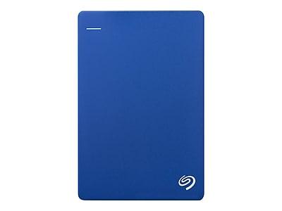 Seagate Backup Plus Slim 2TB USB 3.0 External Hard Drive, Blue (STDR2000102)