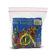Alliance Rubber Reusable Solutions Multi-Purpose Rubber Bands, #117B, Resealable Bag, 50/Pack (07807)
