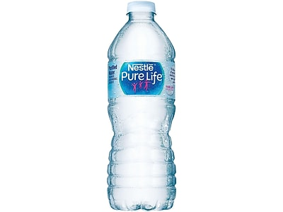 Nestle Pure Life Water, 16.9 Oz., 24/Carton (110109)