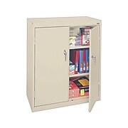 """Sandusky Lee 42"""" Storage Cabinet with 2 Shelves, Putty (SA22361842-07)"""