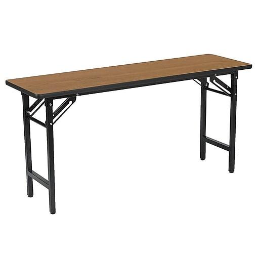 """KFI Training Room Table, 18""""D x 60""""W, Oak (TFD1860)"""