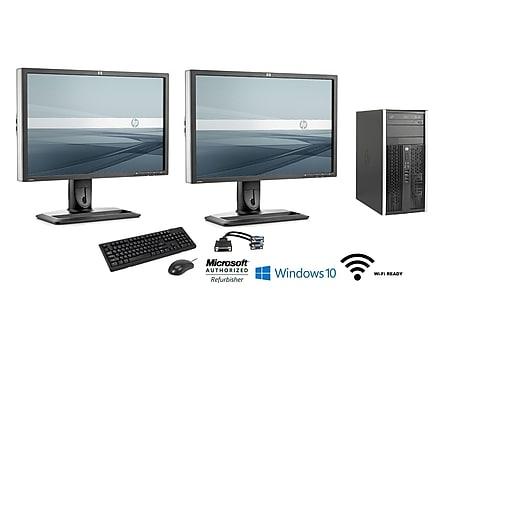 HP Compaq 6300 Pro 652012740087 Desktop Computer, Intel i5, Refurbished