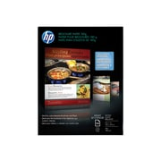 "HP Professional Inkjet Glossy Brochure Paper, 8.5"" x 11"", 150/Pack (Q1987A)"