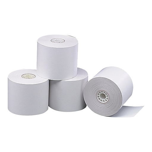 """Staples Thermal Paper Rolls, 2 1/4"""" x 165', 3/Pack (18233)"""