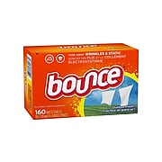 Bounce Outdoor Fresh Softener Dryer Sheets, 160/Box (80168)