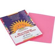 "SunWorks 9""W x 12""L Construction Paper, Pink, 50/Pack (7003)"