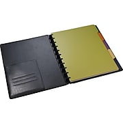 """Staples Arc System Tab Dividers, 9"""" x 11"""", Assorted Colors, 5/Pack (20020)"""