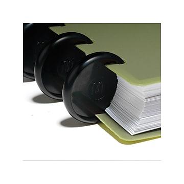 "Staples Arc System 1"" Notebook Expansion Discs, Black, 12/Pack (20773)"