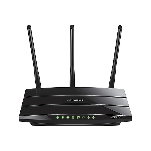 TP-LINK Archer C1200 Dual Band Wireless and Ethernet Router, Black