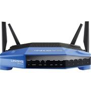 Linksys WRT3200ACM-RM2 Dual Band Wireless and Ethernet Router, Black/Blue