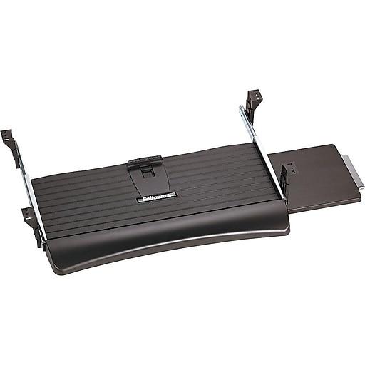 Fellowes Office Suites Adjustable Keyboard Drawer, Black (9140303)