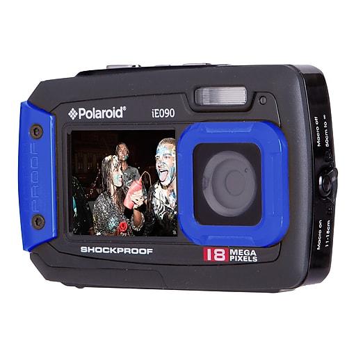 Polaroid iE090 18 Megapixels Point & Shoot Waterproof Camera, Blue
