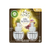 Air Wick Life Scents Scented Oils & Holders, Paradise Retreat, 2/Pack (6233891110)