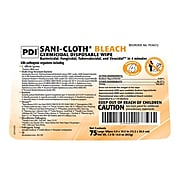 Sani-Cloth Bleach Disinfecting Wipes, 75/Pack (P54072)