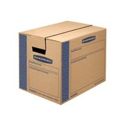 """17.25"""" x 12.38"""" x 12.63"""" Moving Boxes and Kits, ECT Rated, Kraft, 10/Bundle (0062701)"""