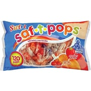 Saf-T-Pops Swirl Lollipops, Variety Flavors, 45.6 oz., 120/Box (20181)