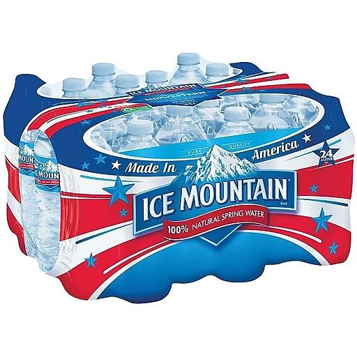 Ice Mountain 100% Natural Spring Water, 16 9 Oz , 24/Carton (083046004027)